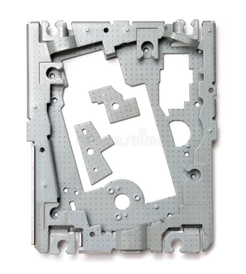 Peças altas tecnologia do dispositivo imagem de stock royalty free