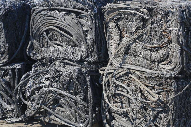 Peças da sucata, destruída e esmagado imagens de stock royalty free