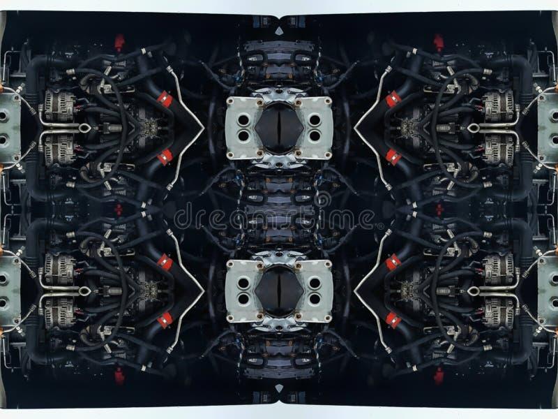 Peças dos tubos do carro, imagens de stock royalty free