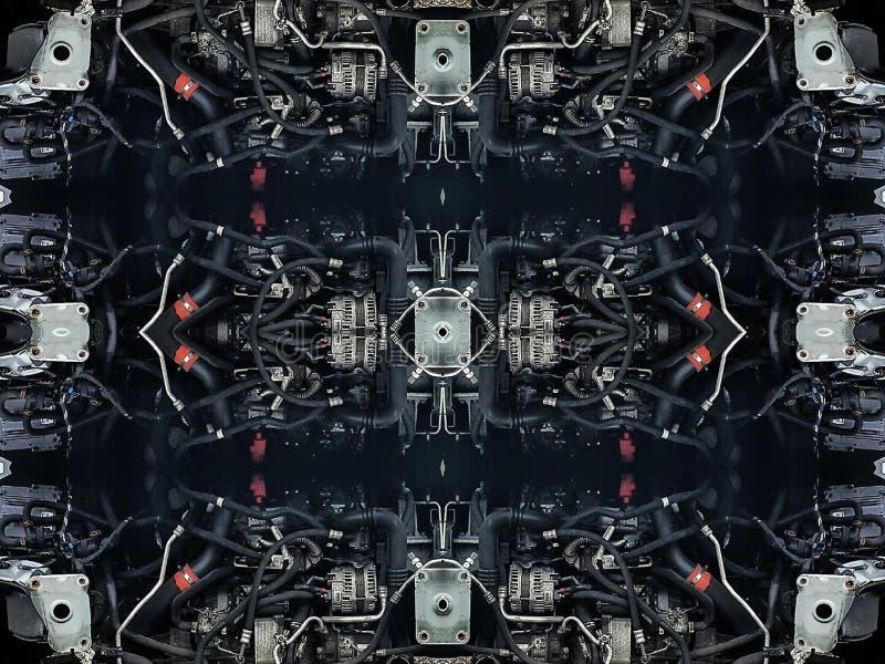 Peças dos tubos do carro, fotografia de stock royalty free