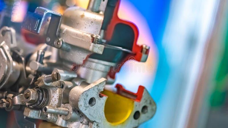 Peças industriais da máquina para a linha de fabricação fotos de stock