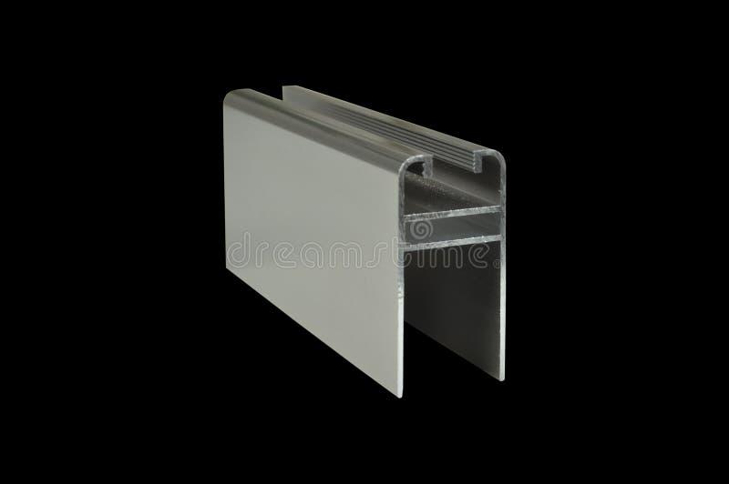 Peças industriais de alumínio fotografia de stock royalty free
