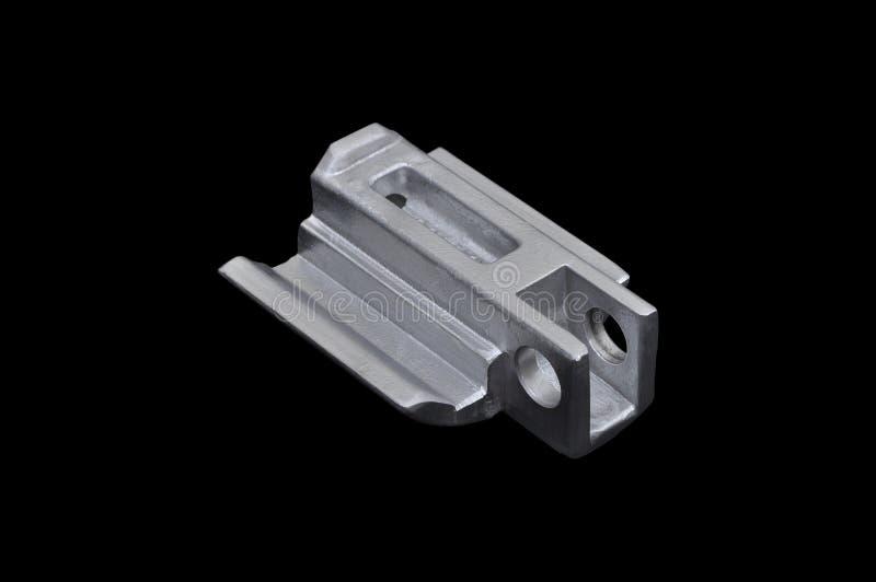 Peças industriais de alumínio foto de stock