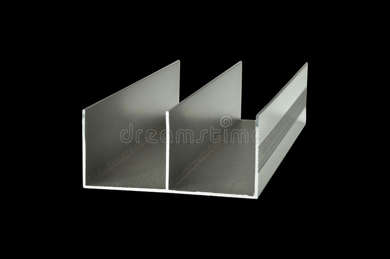 Peças industriais de alumínio imagem de stock
