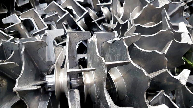 Peças sobresselentes do rotor da máquina de lavar imagem de stock