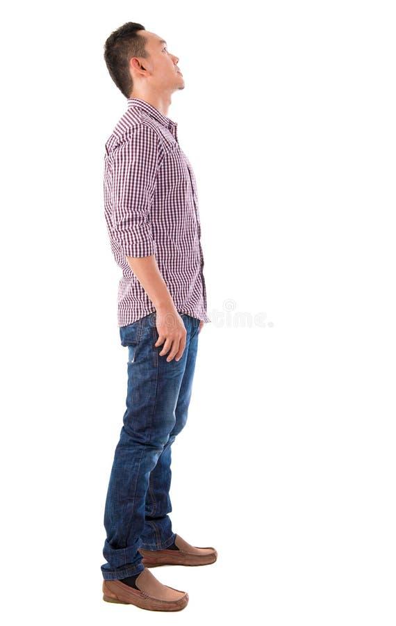 Pełna ciało azjata samiec zdjęcia royalty free