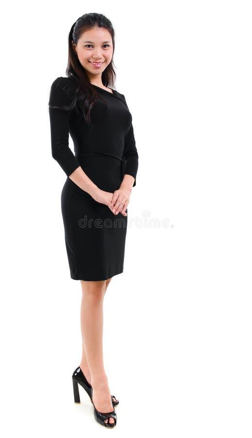 Pełna ciało kobieta fotografia royalty free