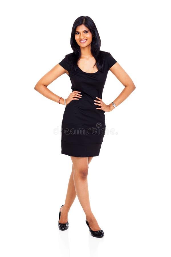 Ładna indyjska kobieta fotografia royalty free