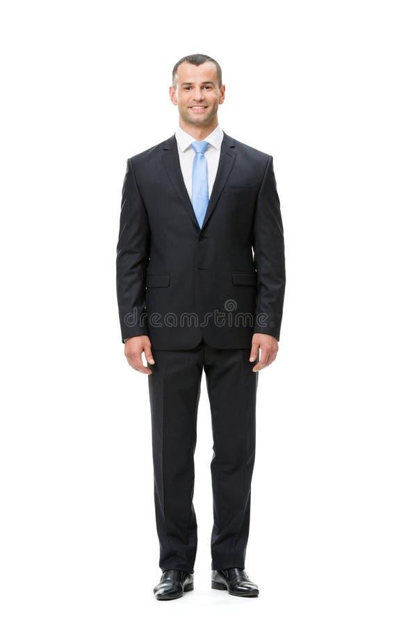 Pełna długość biznesowy mężczyzna obraz royalty free