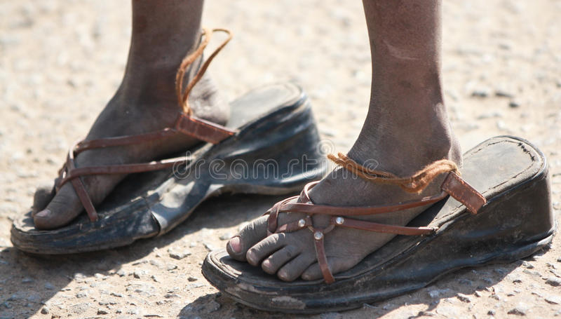 pełnia duży buty fotografia royalty free