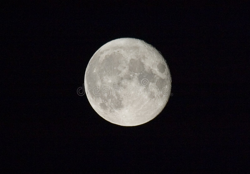 Pełnia Księżyca Obrazy Royalty Free