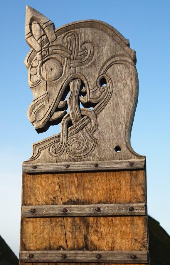 pełnoletni domowy stary tradycyjny Viking zdjęcia stock