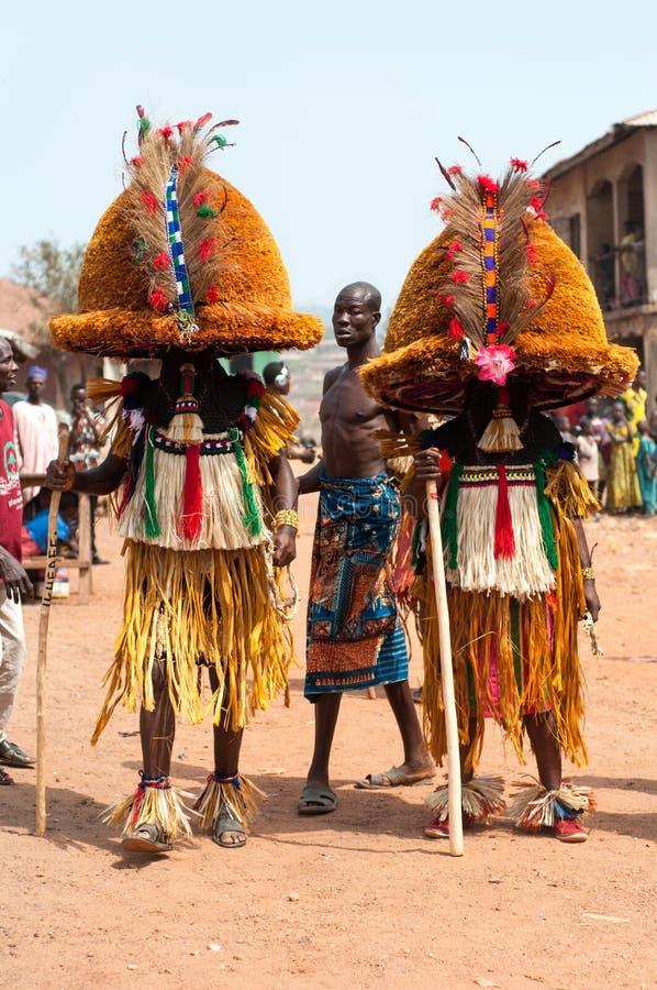 Pełnoletnich stopni festiwal w Nigeria fotografia stock