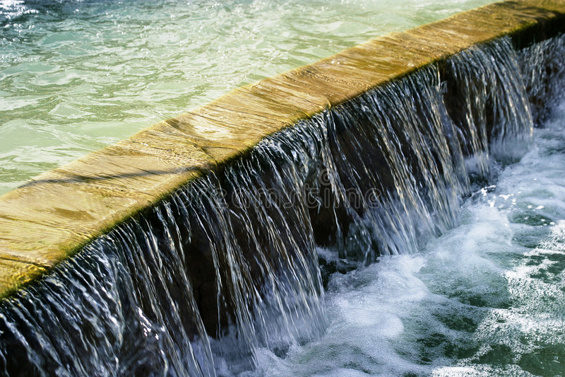 pełnometrażowa wody obraz royalty free