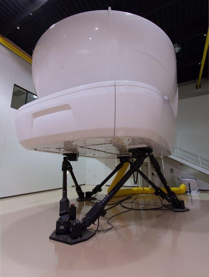 Pełny Flight Simulator zdjęcie royalty free