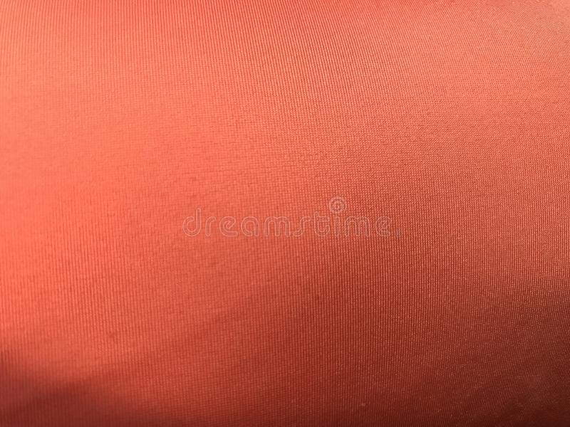 Pełny rama strzał światło - pomarańczowa nylonowa tkanina fotografia royalty free