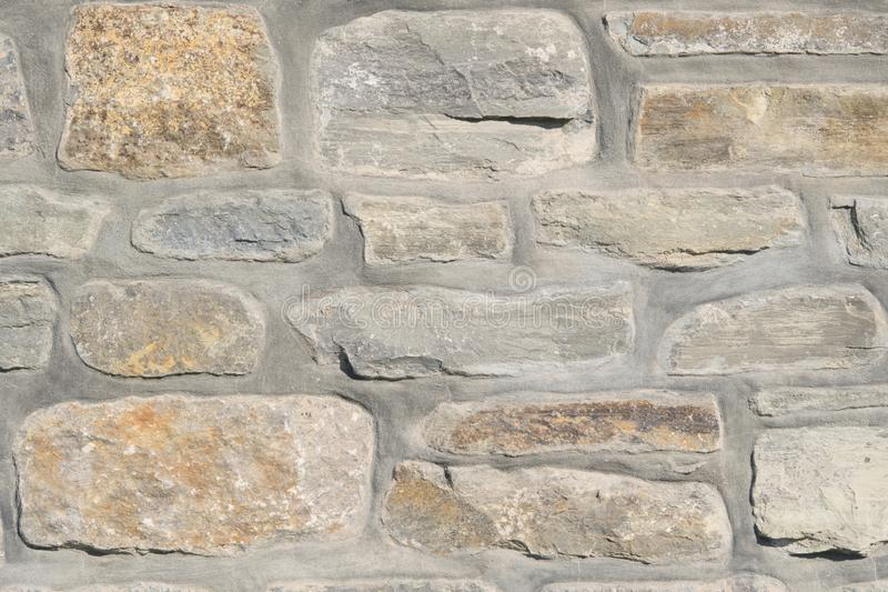 Pe?a de uma parede de pedra fotos de stock royalty free