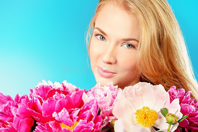 A peônia floresce a fragrância imagens de stock royalty free