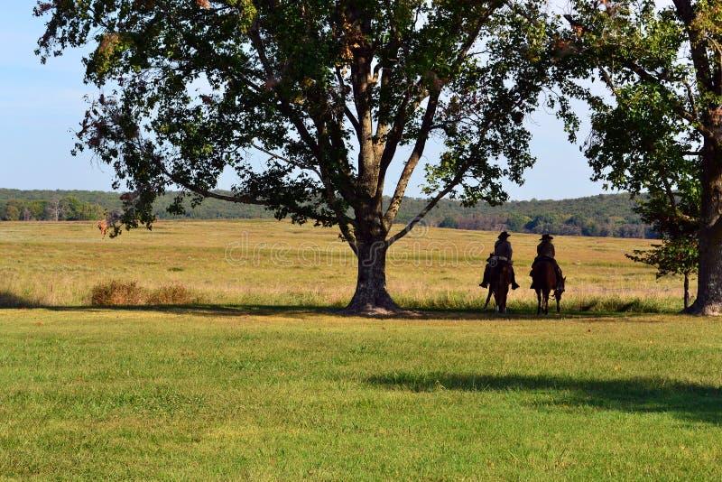 Pea Ridge National Military Park Battlefield royalty free stock photos