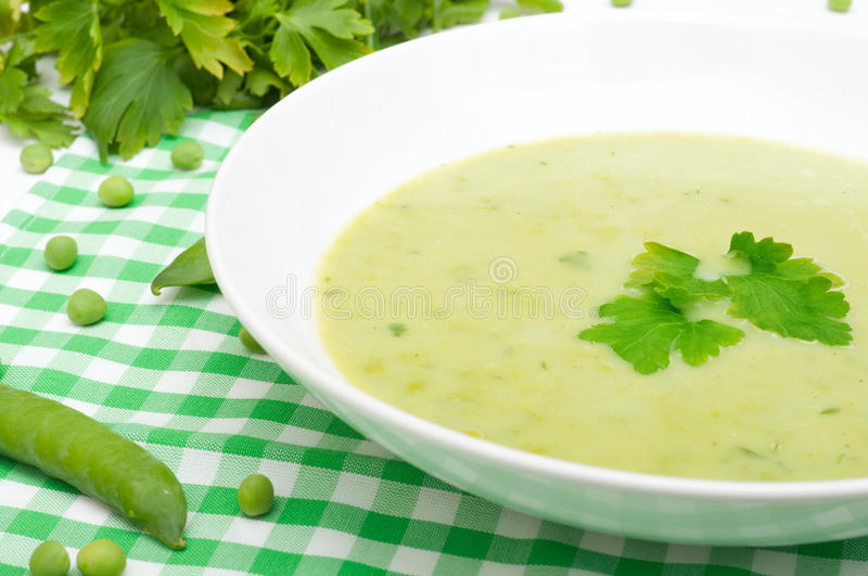 Download Pea Soup stock photo. Image of vegetable, healthy, creamy - 24433454