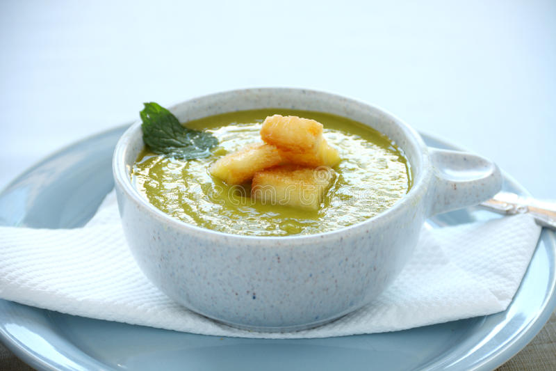 Download Pea Soup stock photo. Image of healthy, meal, nourishment - 26352436