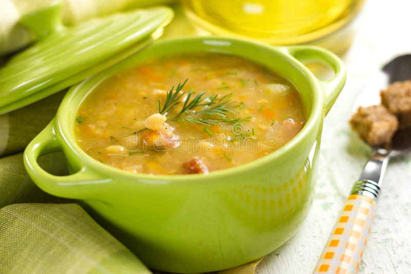 Download Pea Soup Royalty Free Stock Photography - Image: 27361397