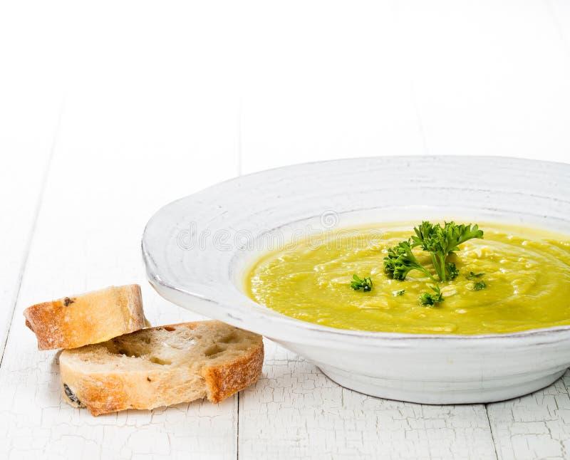 Pea Soup fotografia stock libera da diritti
