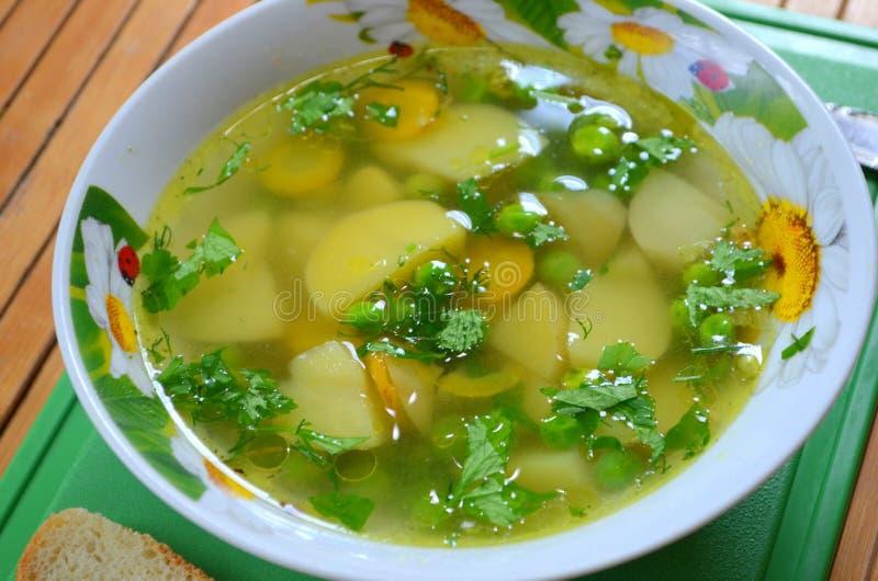 Pea Soup imagens de stock royalty free