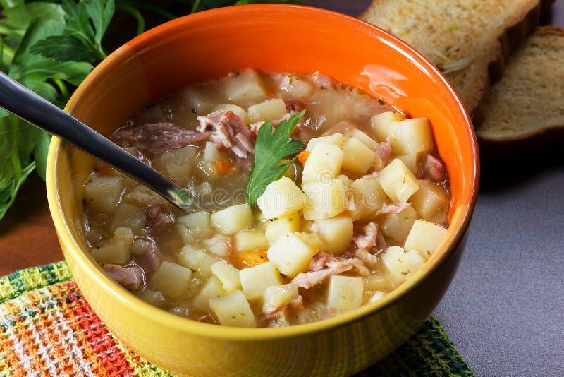 Pea Soup imagem de stock