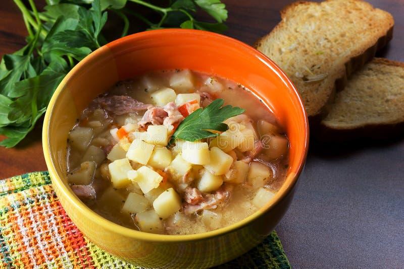 Pea Soup foto de stock royalty free