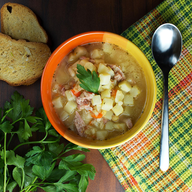 Pea Soup fotos de stock royalty free
