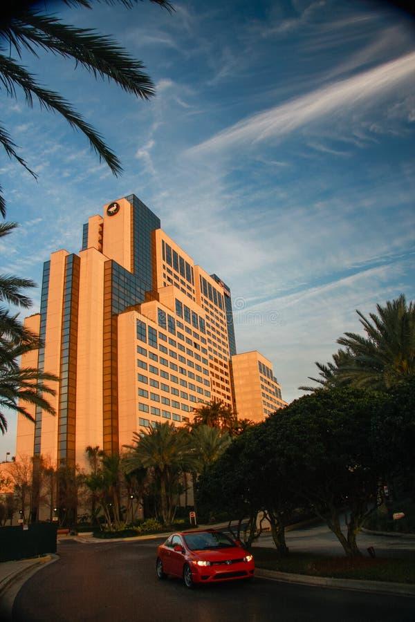 Peabody hotel na zawody międzynarodowi przejażdżce w Orlando zdjęcia stock