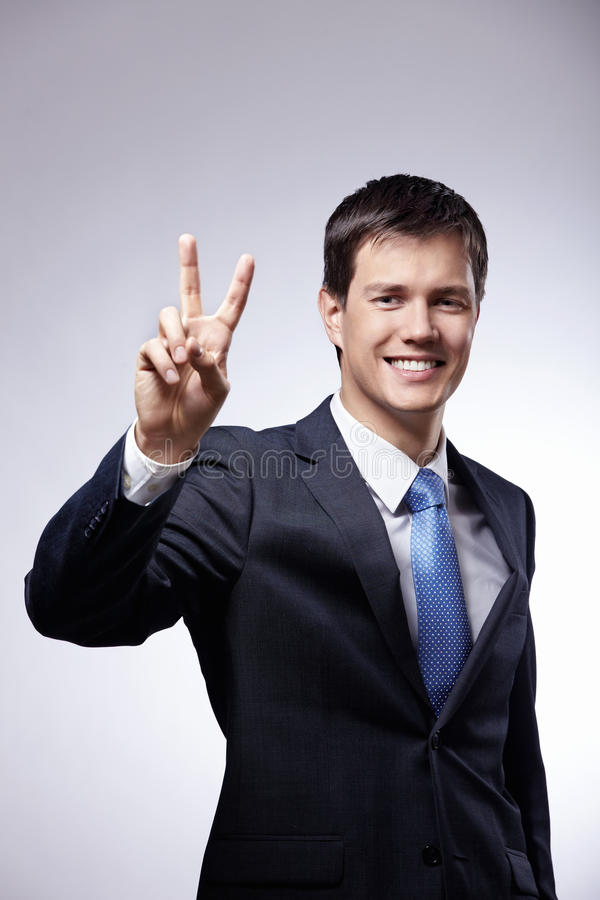 Download Peace stock photo. Image of adult, mature, success, human - 18266712