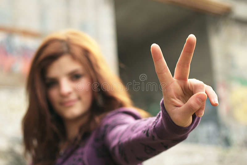 Peace stock image