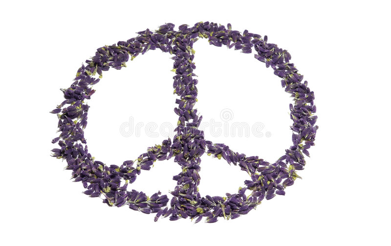 Peace for all stock photography
