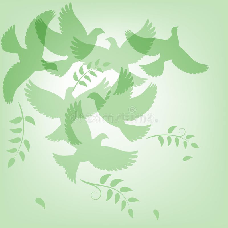 Peace background vector illustration
