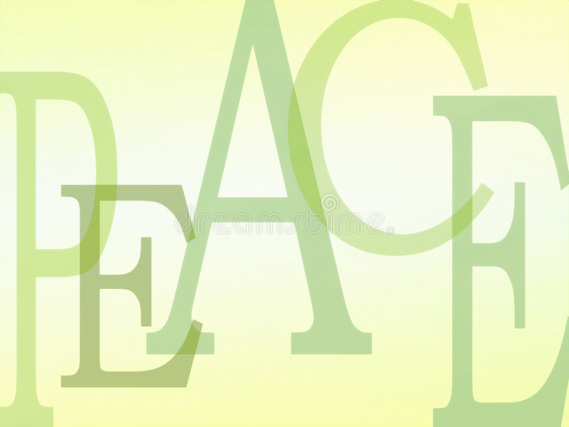 Download PEACE background letters stock illustration. Image of feeling - 6168594