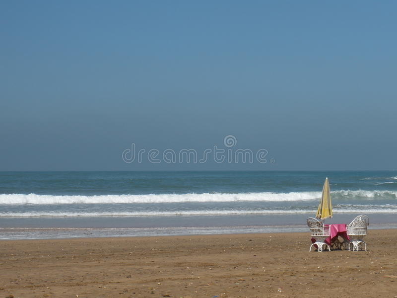 Peace and beach royalty free stock photos