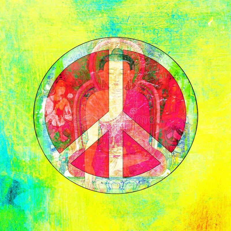 Download Peace Buddha stock illustration. Image of spirit, calm - 25938723