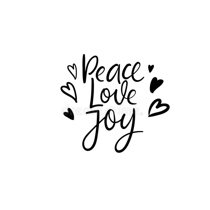 Peace love joy christmas and happy new year cards modern download peace love joy christmas and happy new year cards modern calligraphy hand m4hsunfo Images