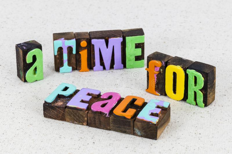 Peace love yourself time wellbeing body mind soul spirit royalty free stock photo