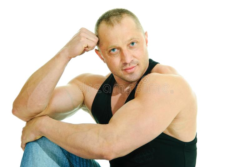 Download Peace of mind stock image. Image of male, health, biceps - 16344753