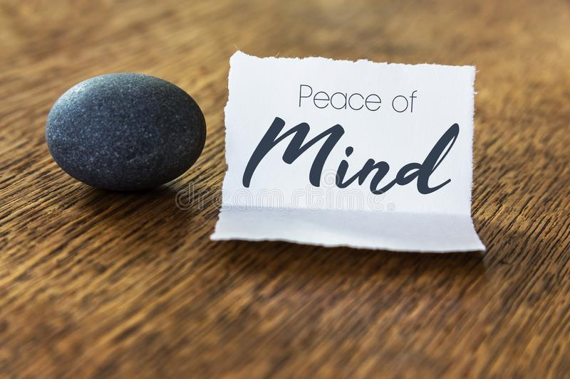 Peace of Mind Concept royalty free stock photos
