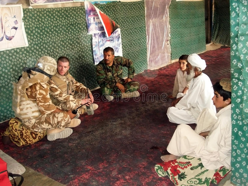 Peace Negotiation In Afghanistan Editorial Stock Image