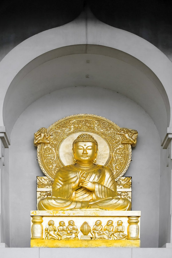 Download Peace Pagoda statue stock photo. Image of statue, england - 3339270