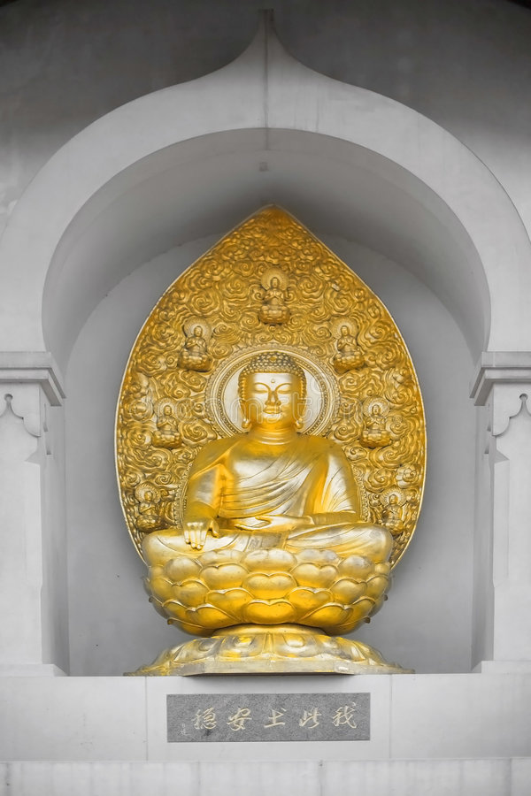 Download Peace Pagoda statue stock photo. Image of figure, battersea - 3339458