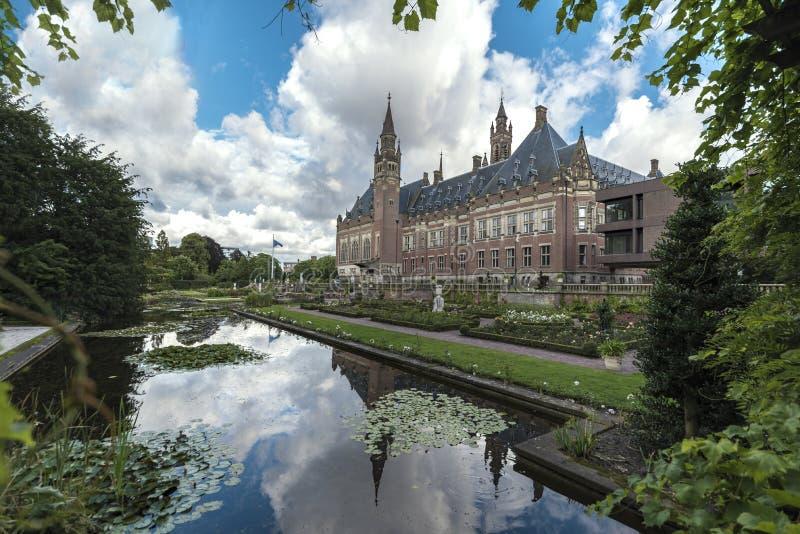 Peace Palace mirror royalty free stock image