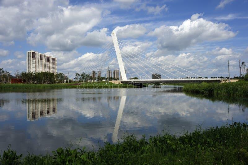Download Peace park bridge stock photo. Image of environment, shenyang - 27545912