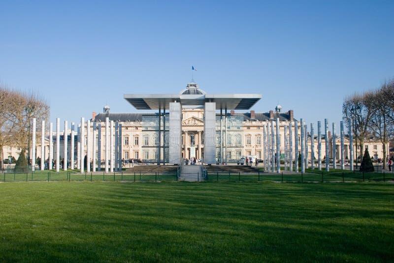 The Peace Pavilion at the Champ de Mars near the E royalty free stock image