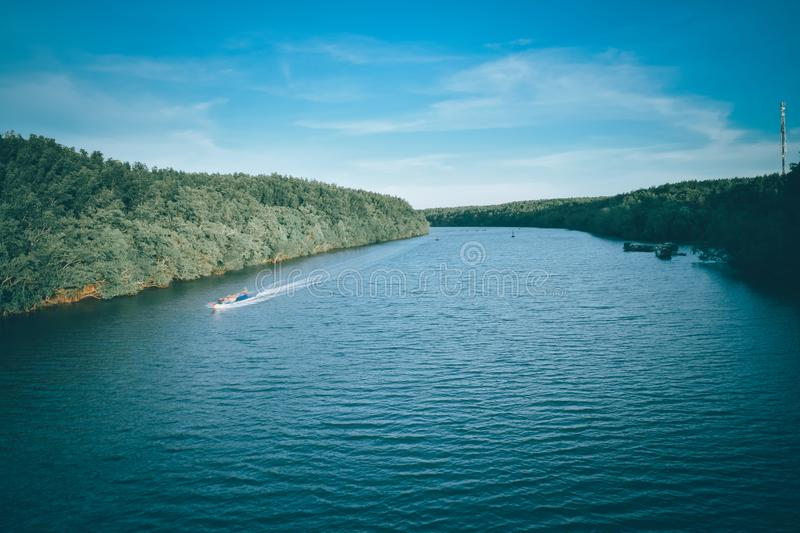Peace river stock photography